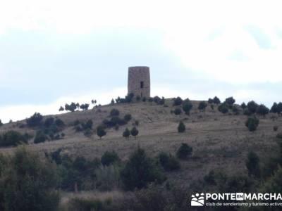 Senda Genaro - GR 300 - Embalse de El Atazar; senderos aracena